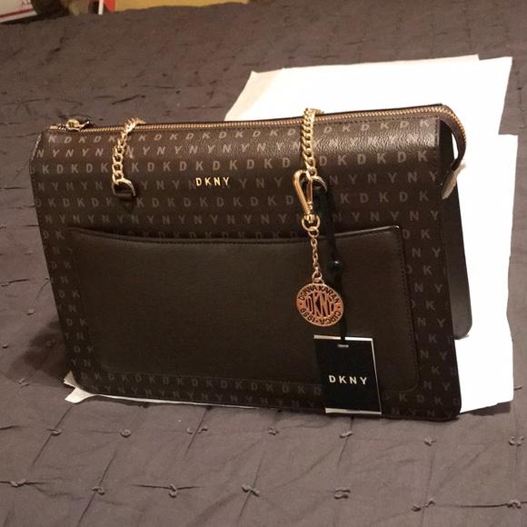 Dkny Bags | Monogrammed Handbag | Poshma