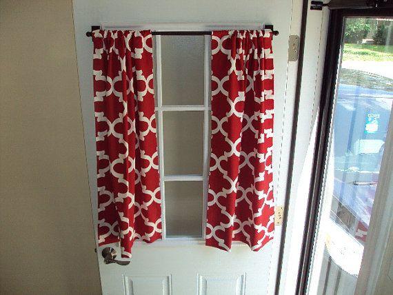 BACK Door FRONT Door Curtain, Custom Made (With images) | Front .