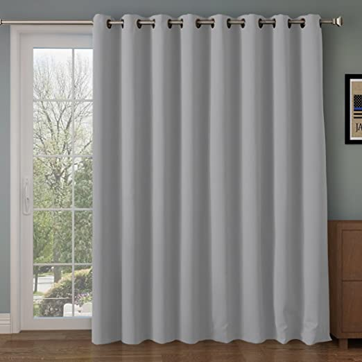 Amazon.com: RHF Function Curtain-Wide Thermal Blackout Patio Door .