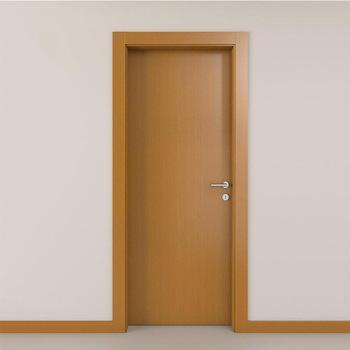 Modern bedroom door design wooden flush door with door frame, View .