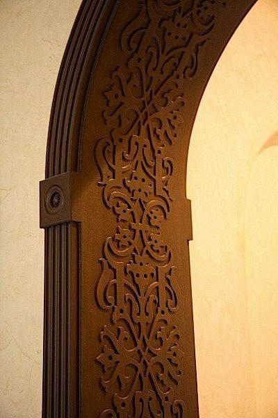 Decorative door frame-Istvan Torok (With images) | Apartment decor .