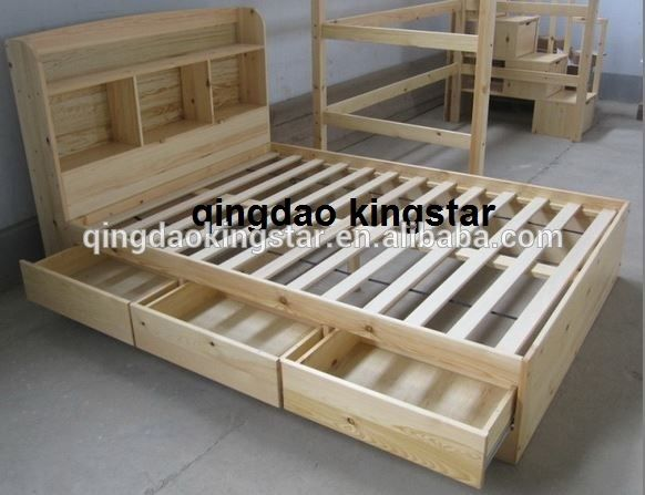 wood double bed designs with box | Double bed designs, Bed design .