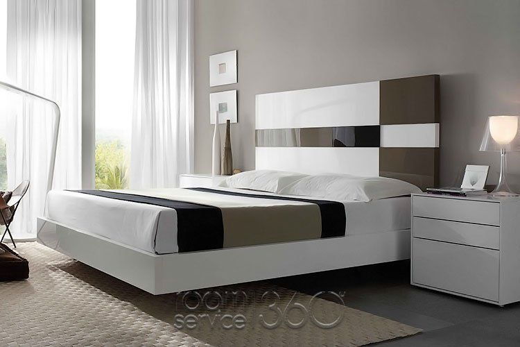 Cuadros Contemporary Floating Platform Bed by Mobenia (With images .