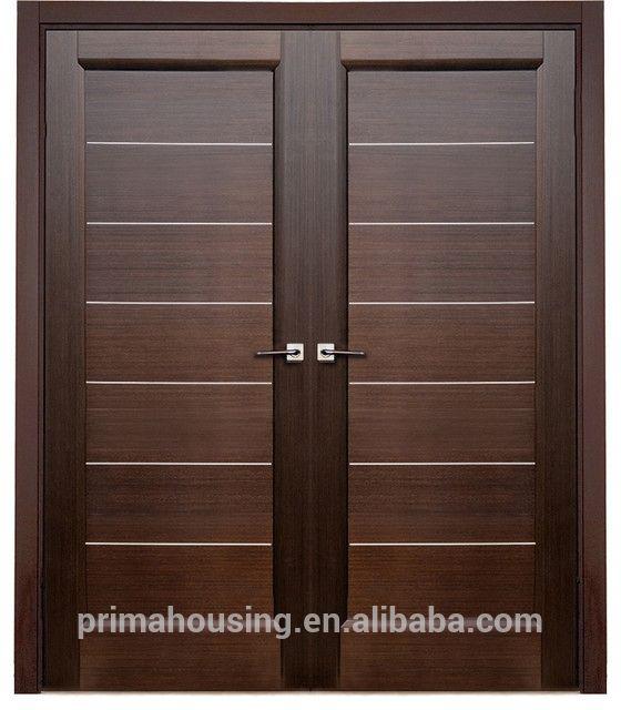 double interior swing solid wooden door, door price | Wooden .