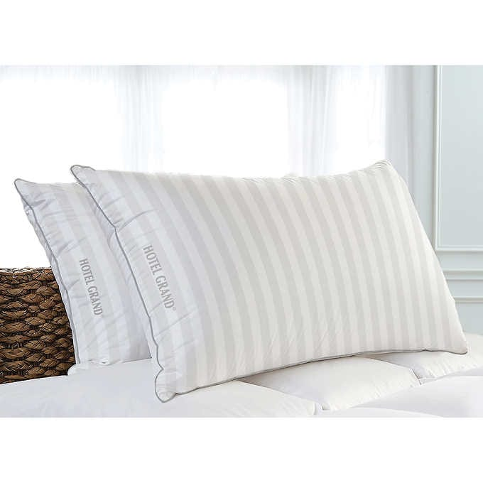 Hotel Grand Feather & Down Pillow, 2-pa