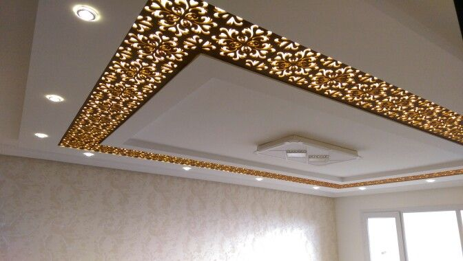 Pin by Fleur7z on ceiling gypsum decoration | Drawing room ceiling .