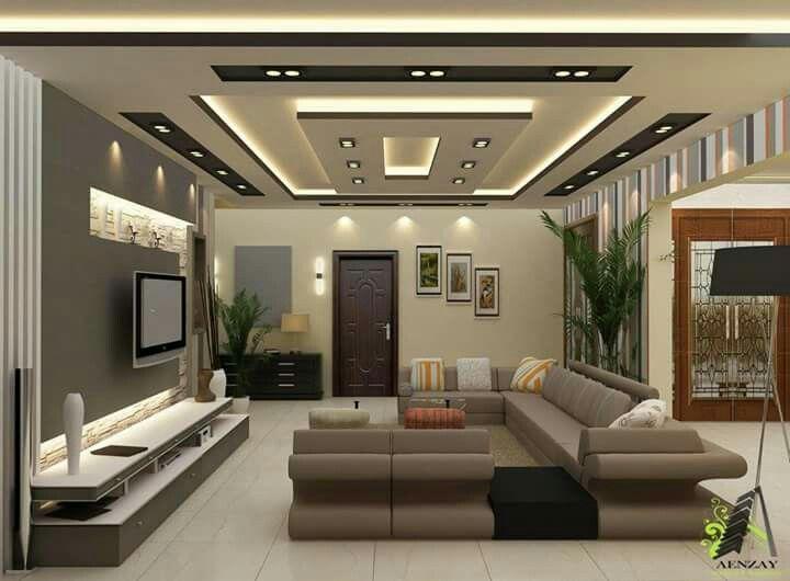 Pop for home | Ceiling design living room, Bedroom false ceiling .