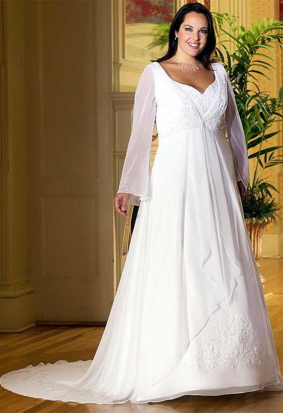 Wedding Dress: Wedding Dresses For Fat Wom