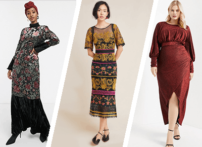 32 Winter Wedding Guest Dresses with Sleeves - PureW