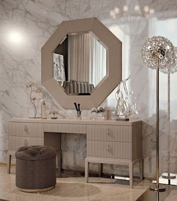 Latest 33 modern dressing table designs for luxury bedrooms 2018 .