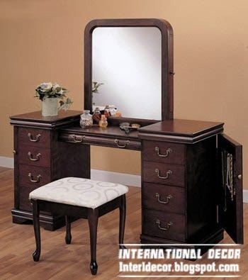MDF dressing table in classic design, buy dressing table .