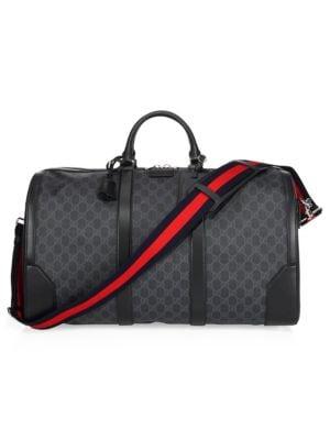 Gucci - Large GG Duffle Bag - saks.c