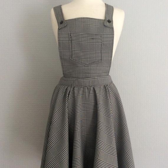 Dungaree Pinafore Dress