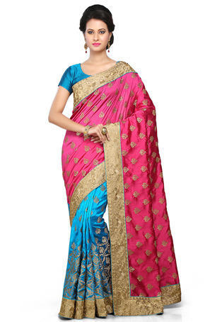 Dupion Silk Saree at Rs 4500/piece(s) | Selaiyur | Chennai| ID .