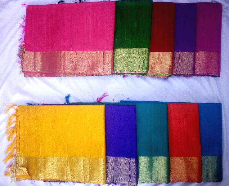 Dupion Silk Saree Manufacturer in Bangalore Karnataka India by .