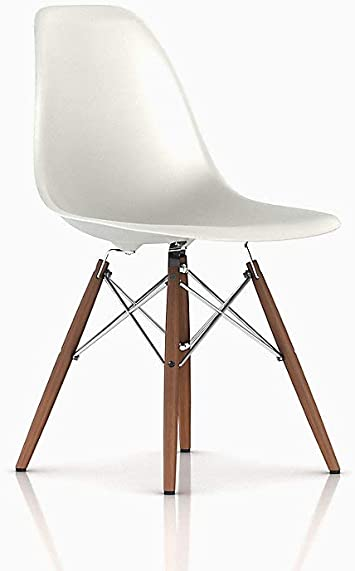 Amazon.com - Herman Miller Eames Molded Plastic Dining Chair .