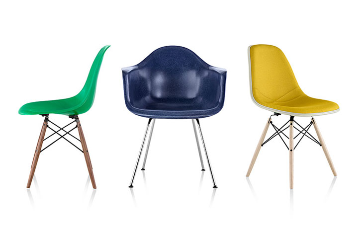 The Iconic Eames Molded Chair is Now Available in Recyclable .