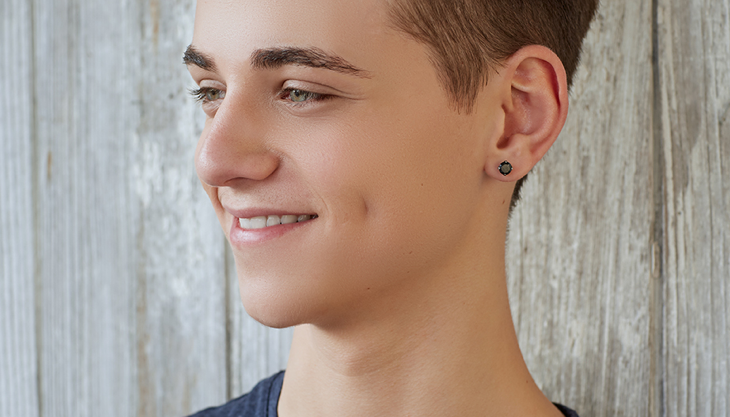 Men's Ear Piercing: Fathers and So