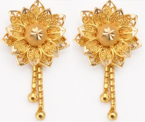 Gold-jewellery-fashion-designs-earrings. | Gold jewelry fashion .