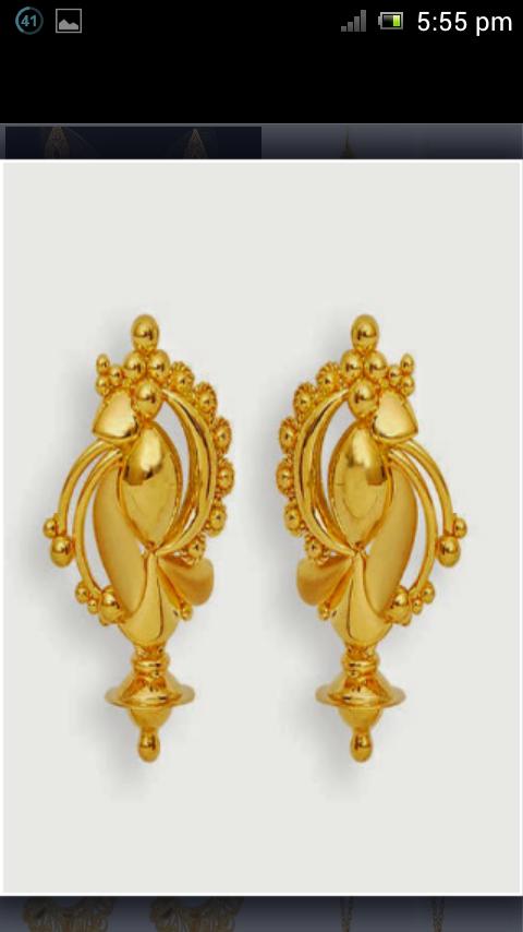 Latest Gold Jewellery Designs Earrings - Best Jewellery 20