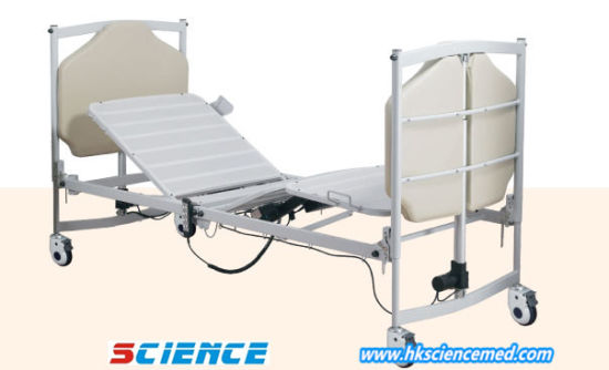 China European Design Luxurious Folding Electric Hospital Bed with .