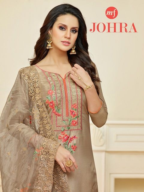 MF ZOHRA EMBROIDERED SALWAR KAMEEZ CATALOGUE INDIA (With images .