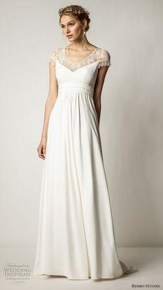 219 Best Empire Waist Wedding Gowns images | Wedding gowns .