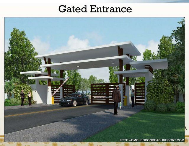 entrance gate design for township - Buscar con Google (With images .