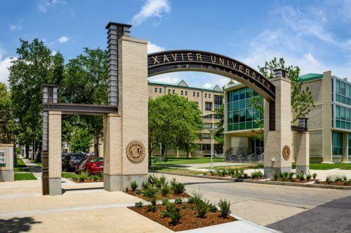 Xavier University entrance | Front gate desi