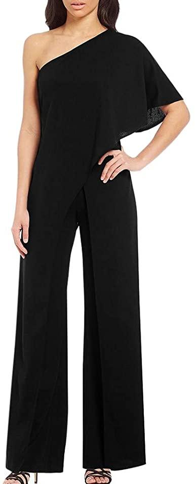 Amazon.com: Nihewoo Womens Evening Jumpsuits Wide Leg Shorts Long .