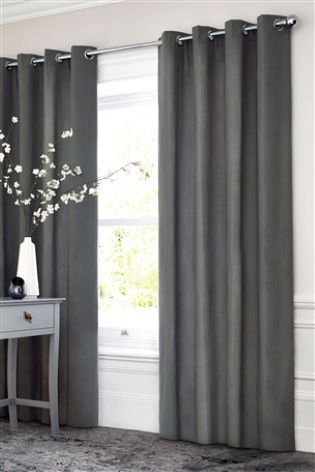 Buy Cotton Blackout Eyelet Curtains online today at Next: Hong .