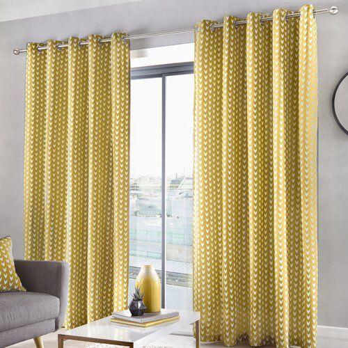 Zipcode Design Wilton Eyelet Curtains Blackout Thermal Curtains .
