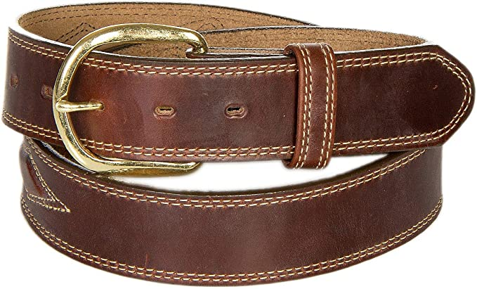 Oiled Fancy Padded Leather Belt at Amazon Women's Clothing store .