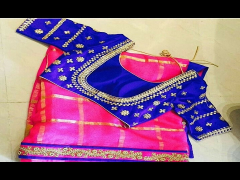 Blouse Designs For Fancy Sarees | Latest Collection 2016 - 2017 .