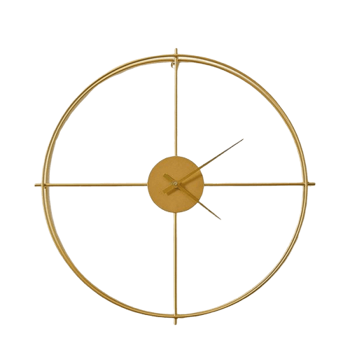Lettin - Golden Modern Clock | The Fancy Pla