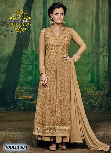 Cream Party wear Fancy Anarkali Salwar Kameez, Rs 2500 /piece The .