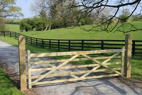 Gate Opening to the domain (With images) | Farm gate, Farm gate .