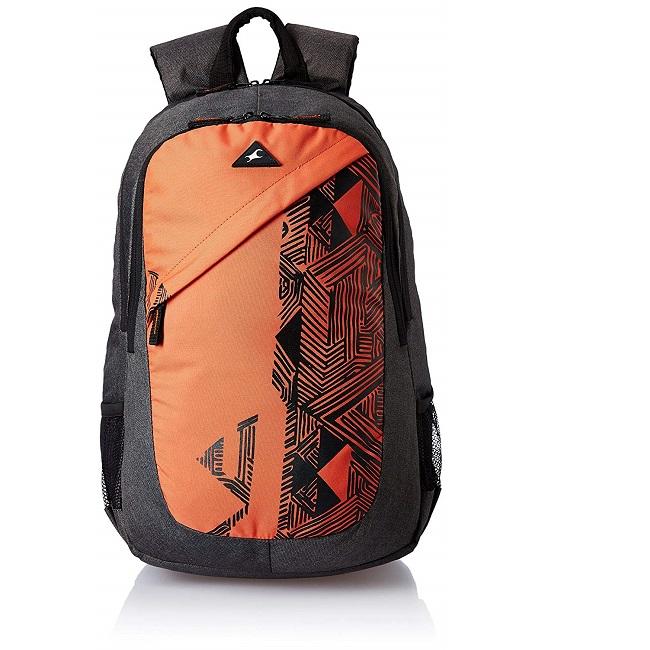 Buy Fastrack Polyester Back Pack (Orange) A0650NOR01 Online at Low .