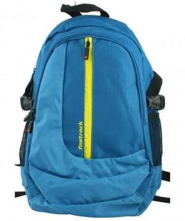 Fastrack Unisex Blue BackPack | College bags, Blue backpack, Ba