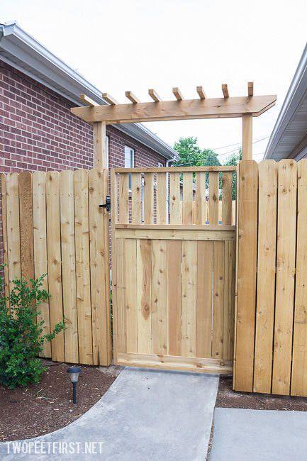 Gorgeous DIY Garden Gate Ideas & Projects | Garden gate design .