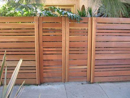 Horizontal Wood Fence Gates Designs | Fence gate design, Modern .