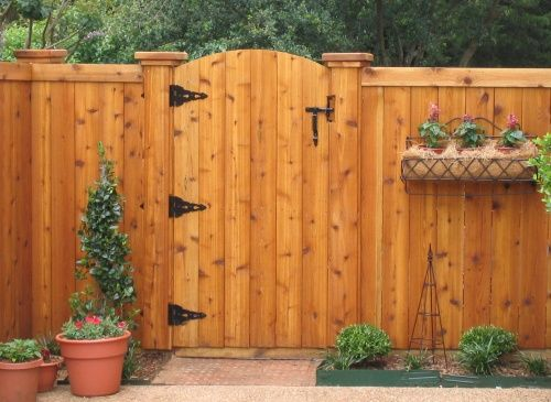 Wood Fence Gates Design (With images)   Wooden garden gate, Fence .