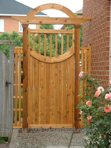 Building the gate involves making a frame for the gate and .