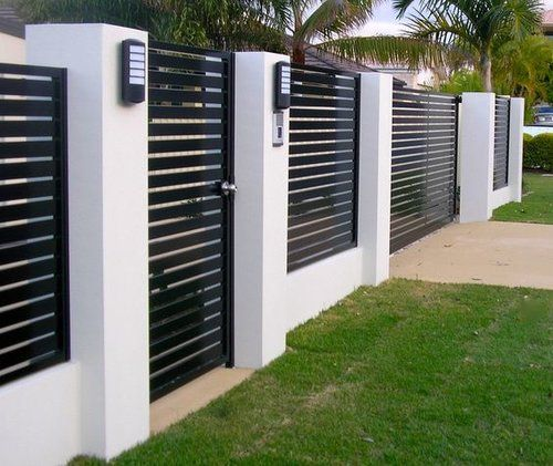 60 Gorgeous Fence Ideas and Designs (con imágenes) | Bardas de .