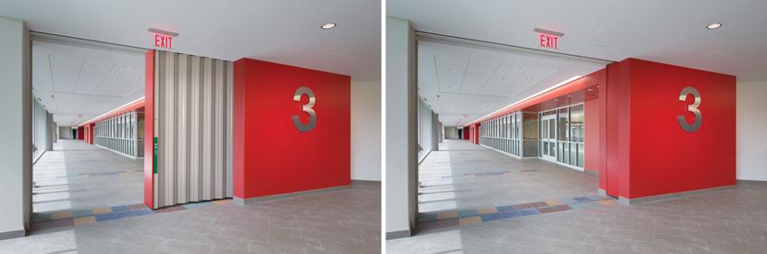 CE Center - Horizontal Sliding Fire Doors: Architectural Design .