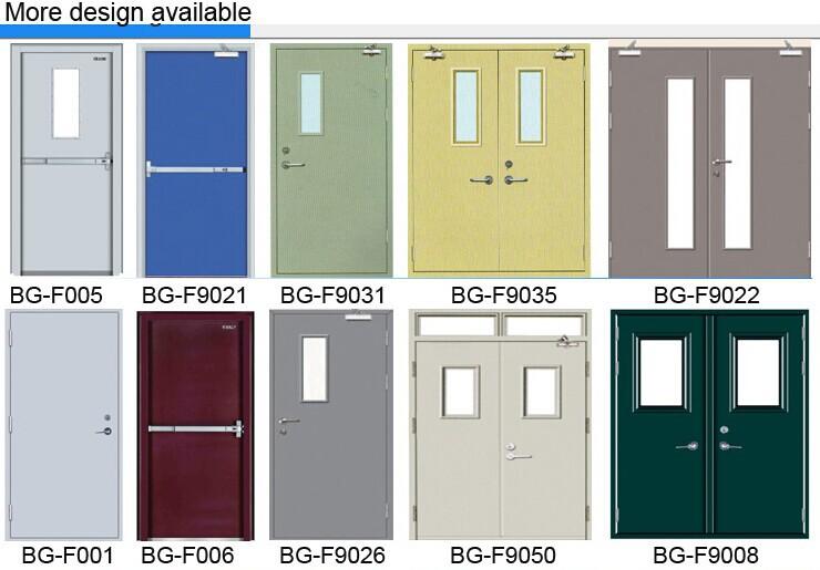 BG-F9065 a60 fire door/fire rated wooden door/1 hours fire rated .