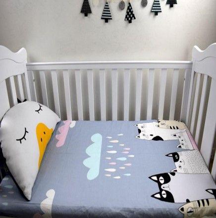 Hand Made Custom Cartoon Cats Cotton Baby Bedding Sets – Bryter .