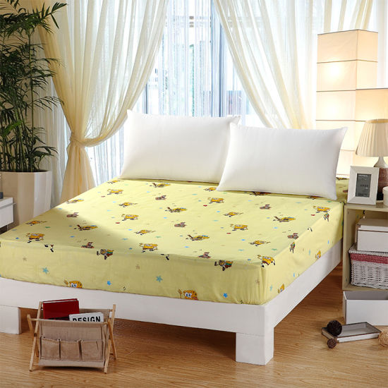 China Manufacturer Wholesale New Design Cotton Hotel Bed Sheet .