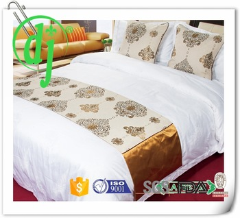 Hotel Ribbon Work Bed Sheets Designs /grey Color Fitted Sheet .