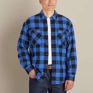 Men's Free-Swingin' Flannel Waffle-Lined Long Sleeve Shirt .